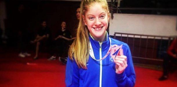 Jo Smith wins bronze in Serbia